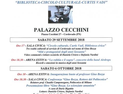 50° di fondazione BIBLIOTECA-CIRCOLO CULTURALE-CURTIS VADI