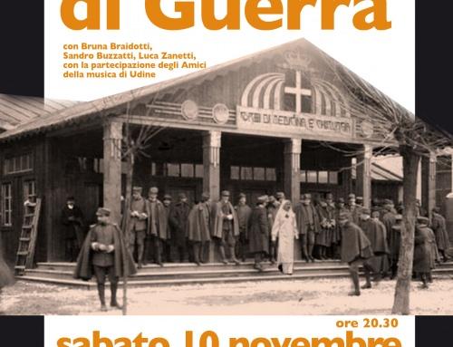 SCEMI DI GUERRA – Spettacolo teatrale e musicale
