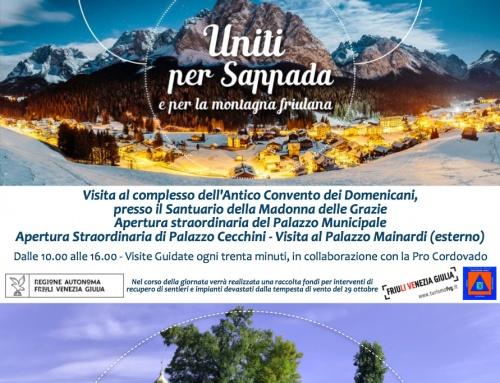 Tutti uniti per Sappada e la montagna Friulana!