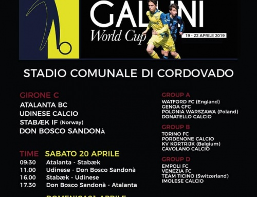 GALLINI WORLD CUP – UNDER 16