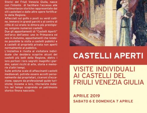 CASTELLI APERTI Primavera 2019