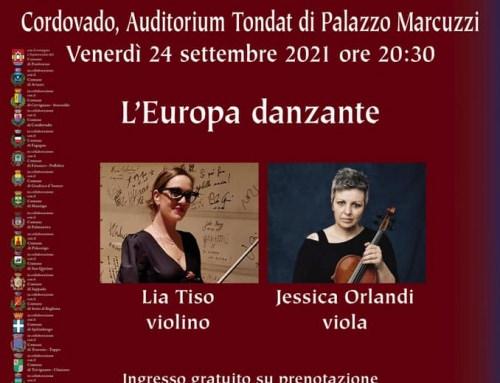 L'Europa Danzante, il Pordenone Music Festival a Cordovado
